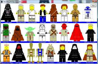 Lego Star Wars Minifigure Minifig Creator Game