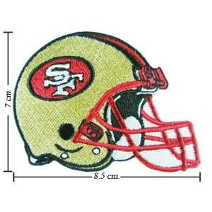 San Francisco 49ers Helmet Logo Iron On Patches