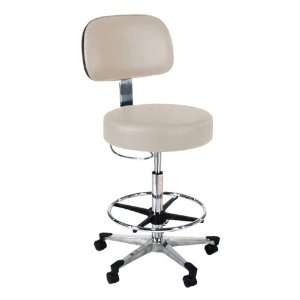 Intensa, Inc. 870 Series Lab Stool w/ Backrest and D Ring Hand