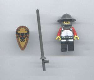 Used LEGO Knight Minifig Knights Kingdom