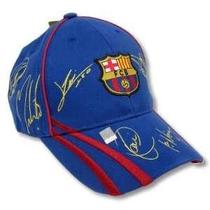 FC BARCELONA SOCCER OFFICIAL LOGO ADJUSTABLE CAP HAT