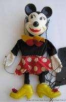 Vintage Walt Disney Toy Minnie Mouse Marionette Puppet