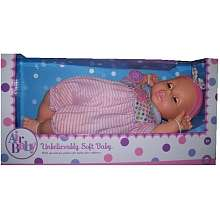 Air Baby   Unbelievably Soft 19 inch Baby Doll   Pink and White