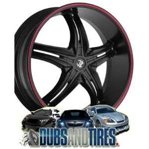 18 Inch 18x7.5 2 Crave wheels No.5 Chrome wheels rims Automotive