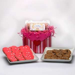 Valentines Day Chocolate Chip Cookies Gift Basket