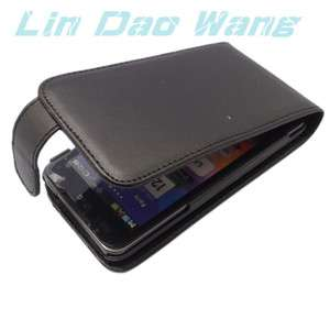 Leather Case Pouch + LCD Screen Protector Film For LG Optimus 2X P990