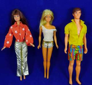 KEN Bend Leg BARBIE Doll Twist N Turn MATTEL Vintage 1970s CASEY