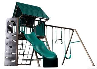 LIFETIME A Frame Playground Playset,Clubhouse Swing Set