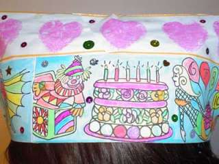 HAPPY BIRTHDAY PARTY PAPER HATS Kids Crafts FAVORS Art