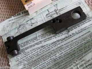 NEW Buehler Scope Mounts Ruger Mini 14 Base NIB w/instructions
