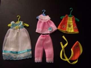 EXCELLENT CONDITION Vintage TUTTI & CHRIS DOLL+CASE+CLOTHES+SHOES