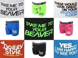 EON Clothing   Mens Xplicit Comedy Funny Rude Boxer Shorts Underwear