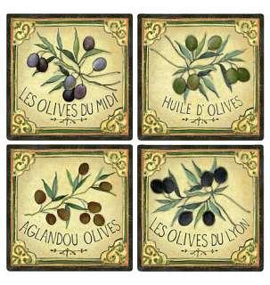 Label Black Olives French Sticker Decals Border Wa 071473125231