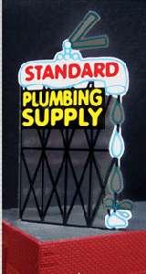 Animated Billboard Sign Standard Plumbing HO O 9181 NIB