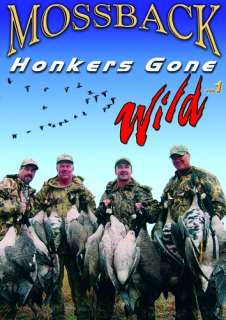 Mossback HONKERS GONE WILD 1 ~ Duck Hunting DVD NEW