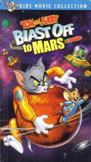 VHS: TOM AND JERRY.BLAST OFF TO MARS