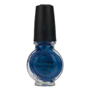 Konad Nail Art Stamping Polish   Blue Pearl (11ml) Beauty