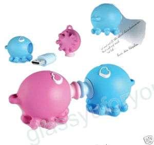4GB Cute Octopus USB 2.0 Flash Memory Pen Drive