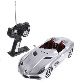 Silver Rastar 114 Mercedes Benz SLR McLaren Z199 Car Model Remote