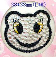 New DIY Adhesive Bling Rhinestone Decals Stickers For Cell phone