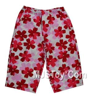 New Fun Relaxing Baby Girl Summer Cotton Pants 2T 3T 4T