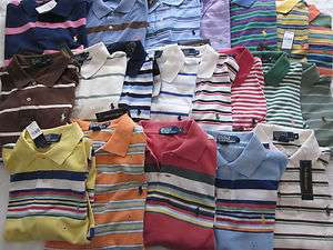 NWT Polo Ralph Lauren striped polo shirts with Ralph Lauren classic
