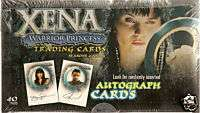 XENA WARRIOR PRINCESS SEASONS 4 & 5 TRADING CARDS FACTORY SEALED BOX