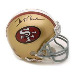 Jerry Rice San Francisco 49ers Autographed Throwback Mini