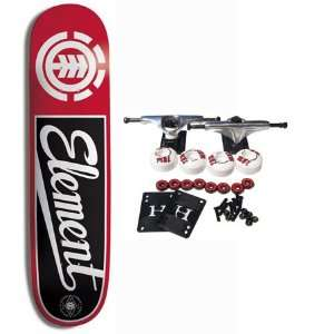 ELEMENT SKATEBOARDS Complete Skateboard HARDBALL SCRIPT 7