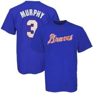 Dale Murphy Atlanta Braves Majestic Name & Number Tee Jersey T shirt