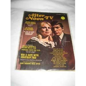After Noon TV V 1 # 3 Dec 1968 Lara Parker & Jonathan Frid