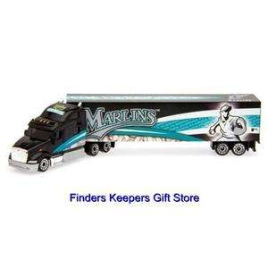 Marlins Diecast Collectibles MLB Gift Toys Merchandise Tractor Trailer