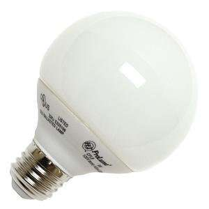 G25 Globe Screw Base Compact Fluorescent Light Bulb