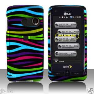 SPRINT LG RUMOR TOUCH SLIDER Phone Cover Hard Case ~eRZ