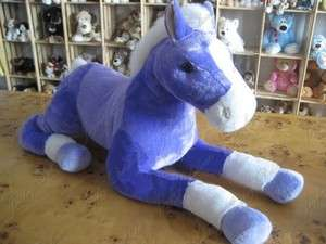 GIANT HUGE BIG 30 HORSE PONY STUFFED PLUSH ANIMAL TOY