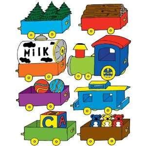 Train Wall Decals / Nursery Stickers Baby