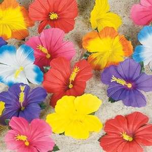 Flower Luau Party Decor Lot Hawaiian Tropical Table Decoration Craft