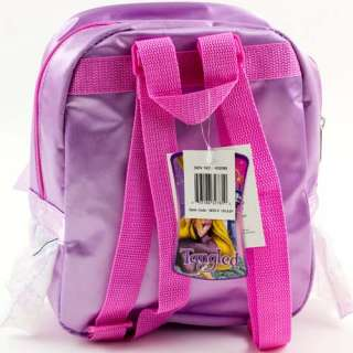 Disney Tangled Rapunzel Girls Mini BACKPACK Lunch Box Bag Tote w
