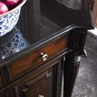 Thomasville Furniture Brompton Hall Credenza Buffet Granite Top 45321