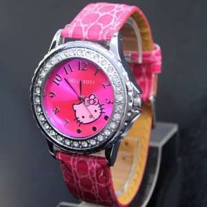 Hello Kitty Pink Quartz Wrist Watch Toys & Games
