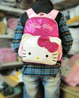 Hellokitty School Students Book Backpack Bag Travel Girl Cute