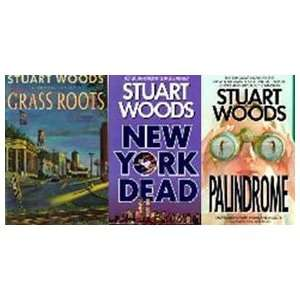 Grass Roots, Palindrome & New York Dead (Stuart Woods Trio