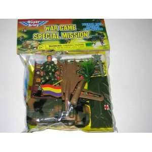Military Army Men Toy Soldier Play Set: Toys & Games