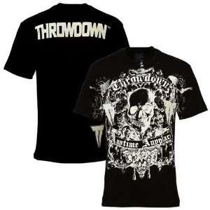 Throwdown Black New Death T shirt