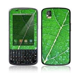 Motorola Droid Pro Decal Skin   Green Leaf Texture