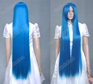 Cosplay Party Fake Hair Full Wig/Wigs 100cm Synthetic + Hairnet