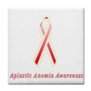Aplastic Anemia Awareness Ribbon Tile Trivet: Everything