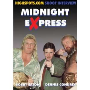 The Midnight Express Shoot Interview Wrestling DVD R: Movies & TV