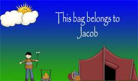 Luggage Bag Backpack Tags Custom Laminated 150+ designs