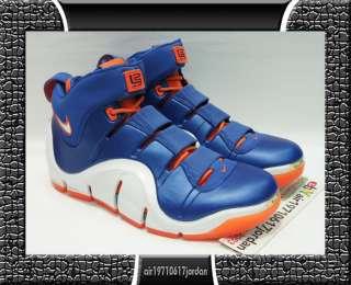 Nike Zoom Lebron IV 4 BIRTHDAY NEW YORK KNICKS us 11.5